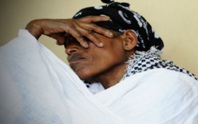 ET women covered faces